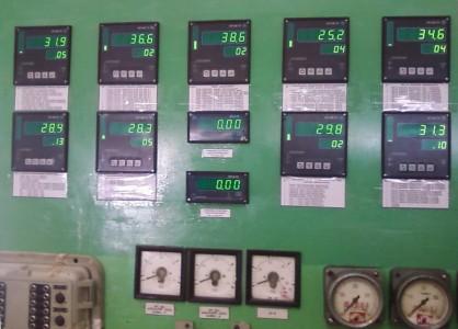 Приборы измерения температуры на БЩУ