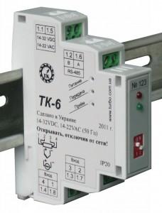 Измерительный преобразователь с универсальным входом ТК-6